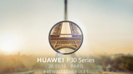 Paryski debiut Huawei P30 i P30 Pro