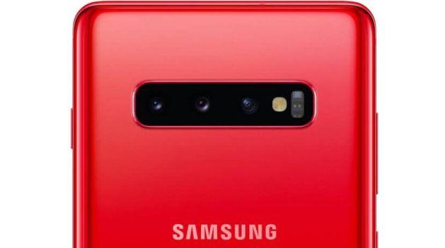 Samsung Galaxy S10+ Cardinal Red
