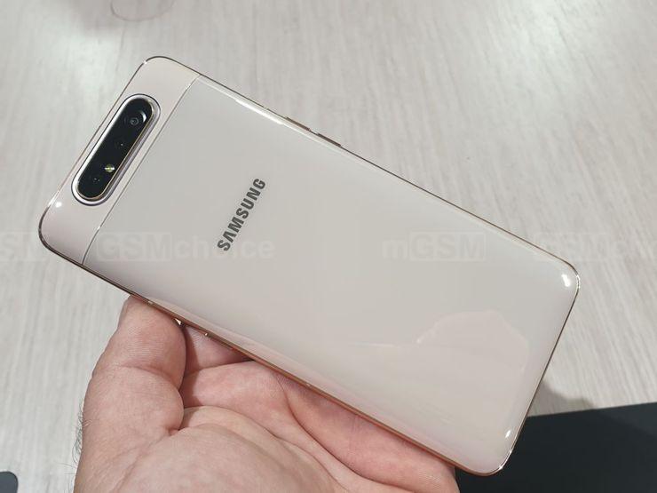 Średniak z 5G może być podobny do Galaxy A80...