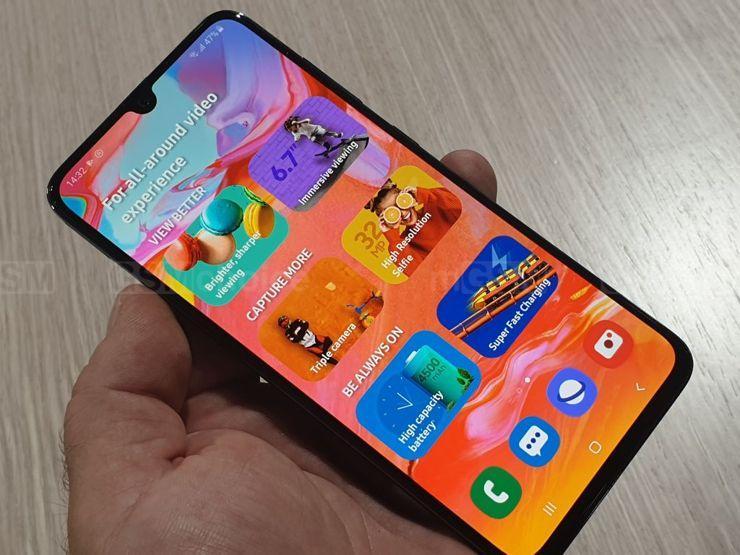 Samsung Galaxy A90 może przypominać model A7 (fot.)