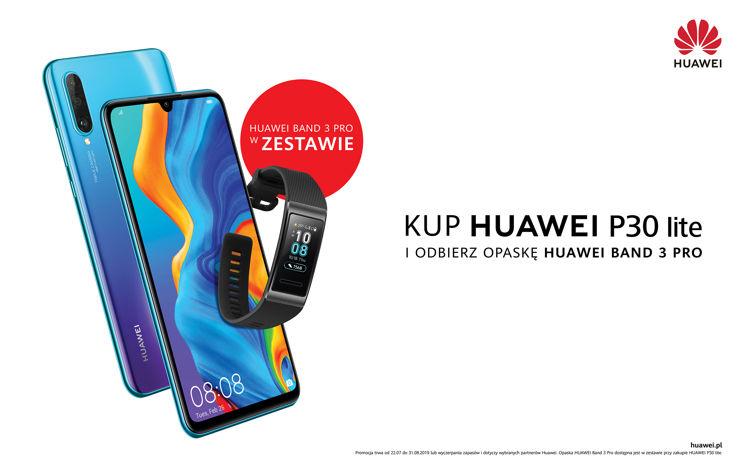 Huawei P30 Lite w promocji z opaską
