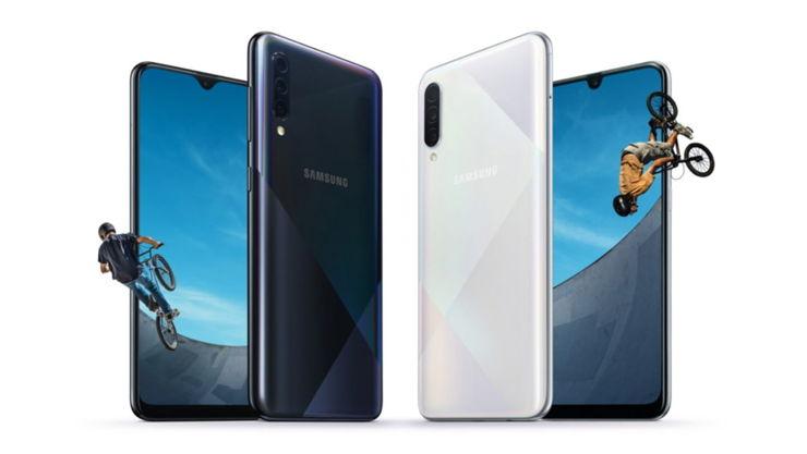 Samsung pokazał modele Galaxy A30s i A50s