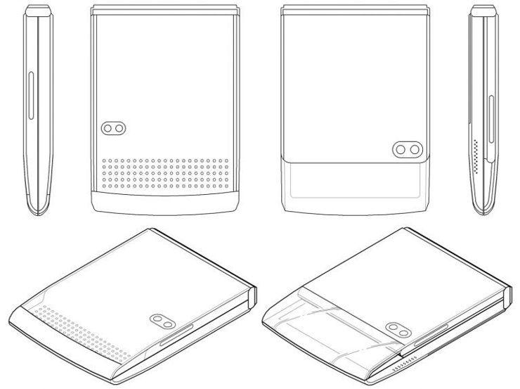 Koncepcje Samsung Galaxy Z Flip 2