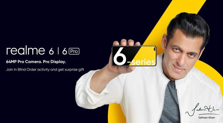 Baner promocyjny Realme 6 i Realme 6 Pro