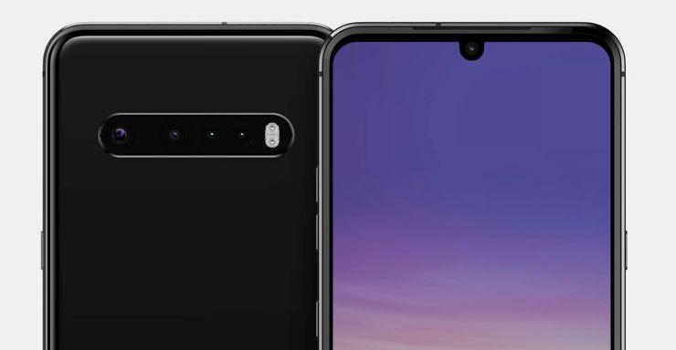Przypuszczalny wygląd LG G9