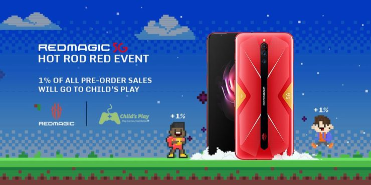 Nubia Red Magic 5G Hot Rod Red