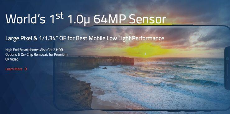 OmniVision z nową matrycą 64 Mpx