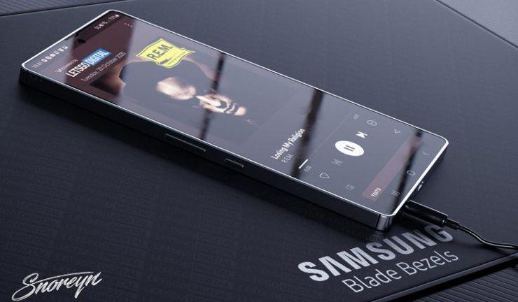 To nie jest niestety nowy Galaxy S - ale Blade Bezel trafi pewnie do wielu modeli