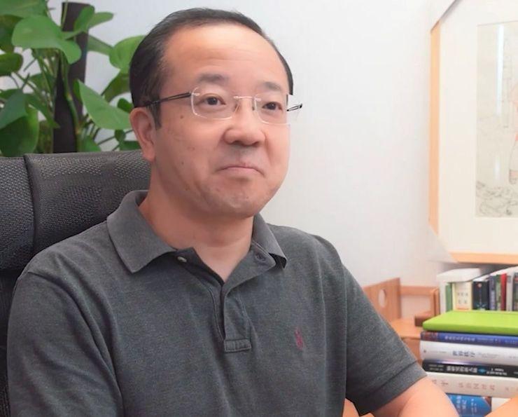 Wang Chenglu, szef działu oprogramowania w Huawei