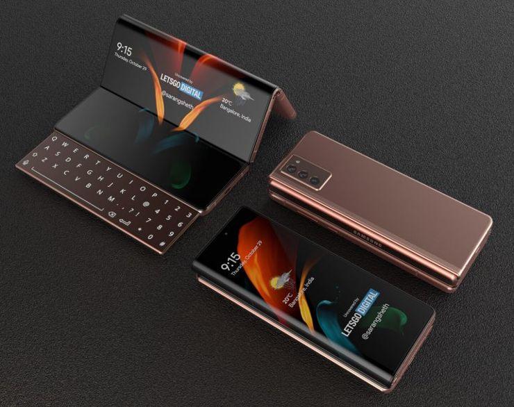 Wizja Galaxy Z Fold 3