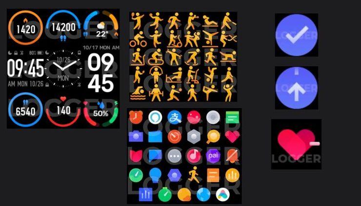 Interfejs Xiaomi Mi Band 6