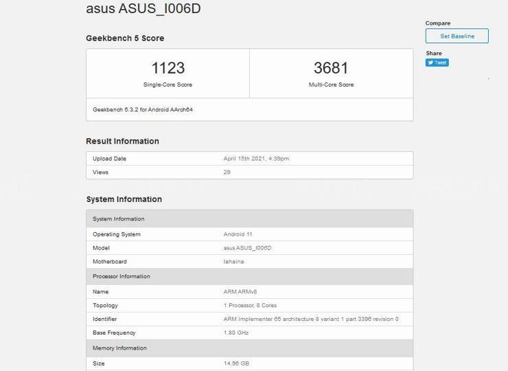 Asus ZenFone 8 Mini - nadchodzi kolejny kompaktowy flagowiec