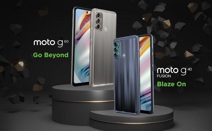 Motorola Moto G60 i Moto G40 Fusion debiutują w Indiach