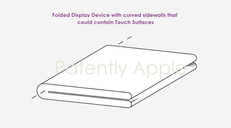 Składany iPhone z ekranem po zewnętrznej stronie?