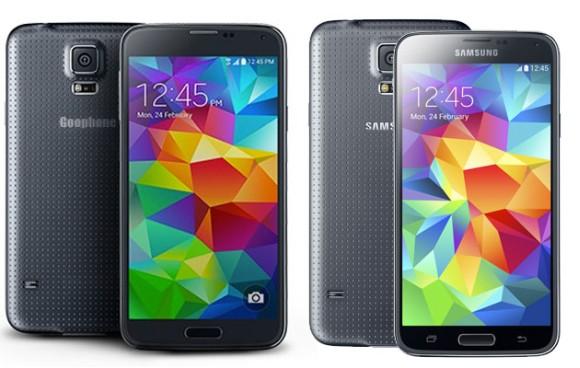 Goophone S5 i Samsung Galaxy S5