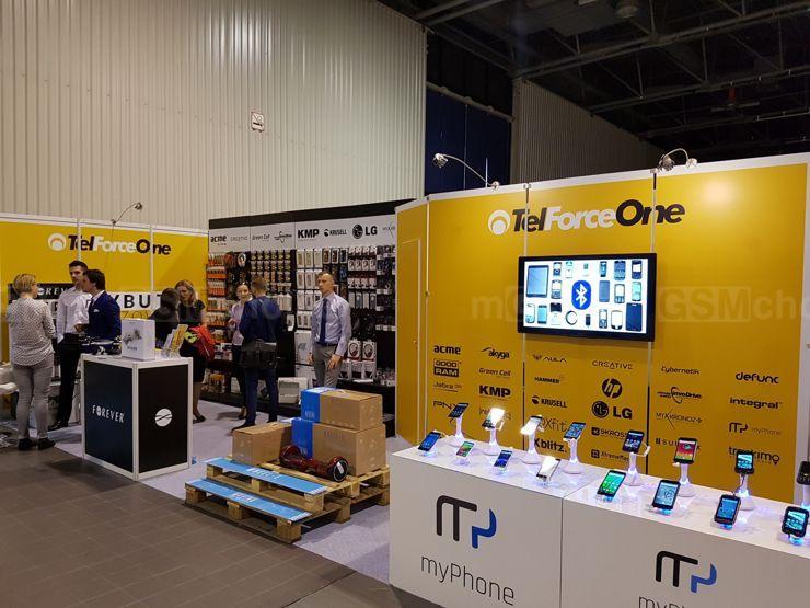Stoisko myPhone i TelForceOne