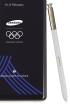 Samsung Galaxy Note8 w olimpijskim wydaniu