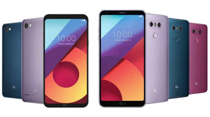 LG G6 i LG Q6 w nowych kolorach