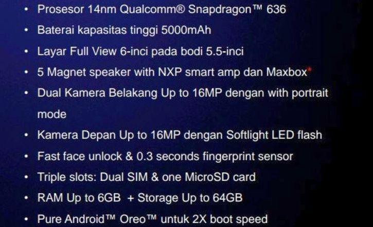 Domniemana specyfikacja Asus Zenfone Max Pro M1