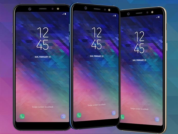 Samsung Galaxy A6 i Galaxy A6+
