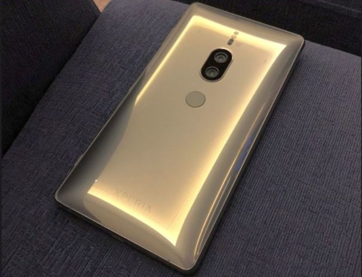 Sony Xperia XZ2 Premium Chrome Gold