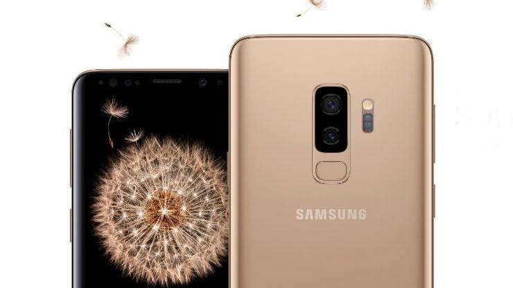 Samsung Galaxy S9 i S9+ w kolorze Sunrise Gold