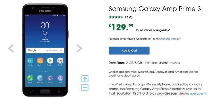 Samsung Galaxy Amp Prime 3  Nowość? Nie, to zwykły J3