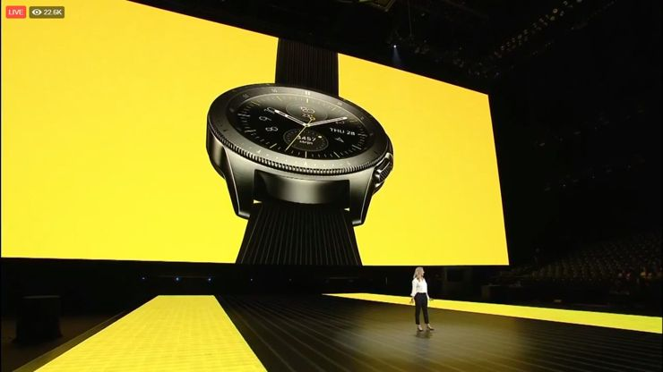 Samsung prezentuje Galaxy Watch