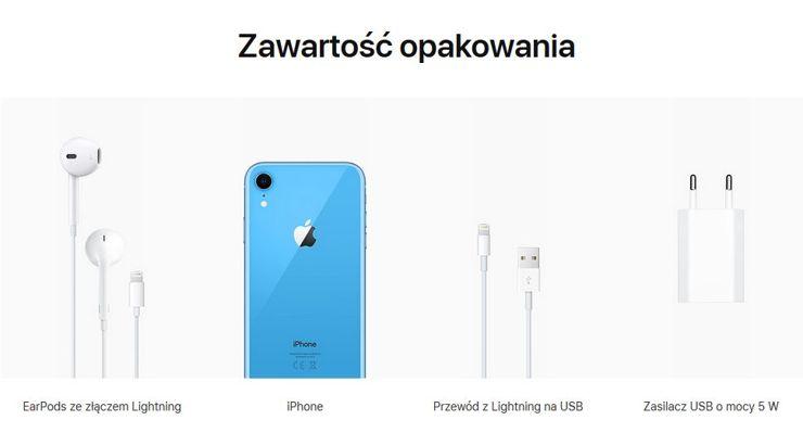 Informacja na stronie Apple nie pozostawia wątpliwości - adaptera brak!