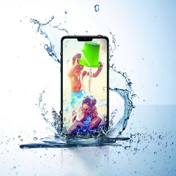 LG G7 Fit i IP68
