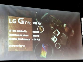LG G7 Fit - promocja