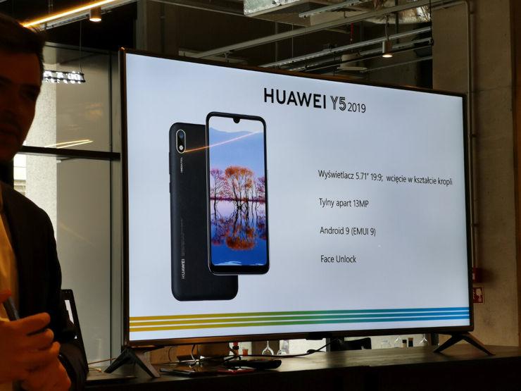 Huawei Y5 2019 - pojawi się w sprzedaży nieco później