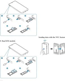 Zrzuty instrukcji oraz zdjęcie A50
