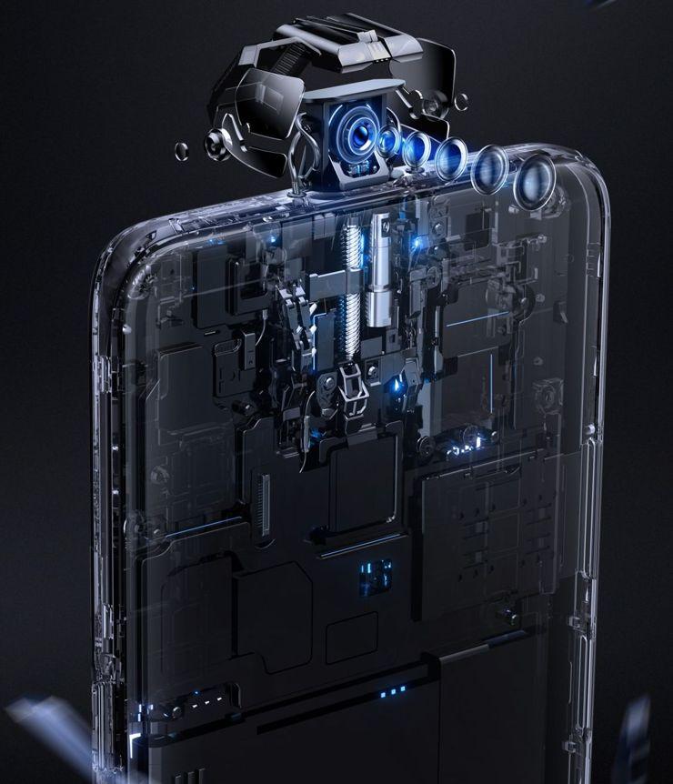 Mechanizm aparatu Oppo K3 - ale na główkę robota nie liczcie...