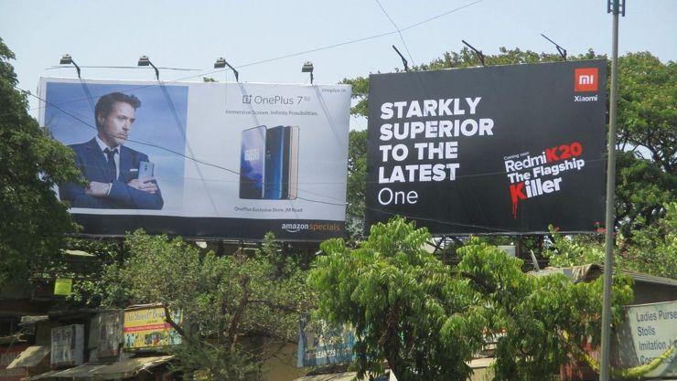 Plakatowa walka w Indiach - jednak Redmi...