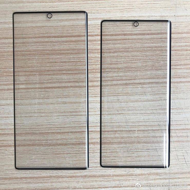 Szkła ochronne na Galaxy Note10 i Note10 Pro