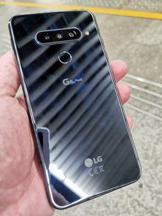LG G8S Thinq na warszawskim peronie