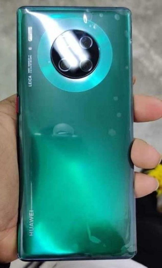 Huawei Mate 30 Pro lub jego makieta