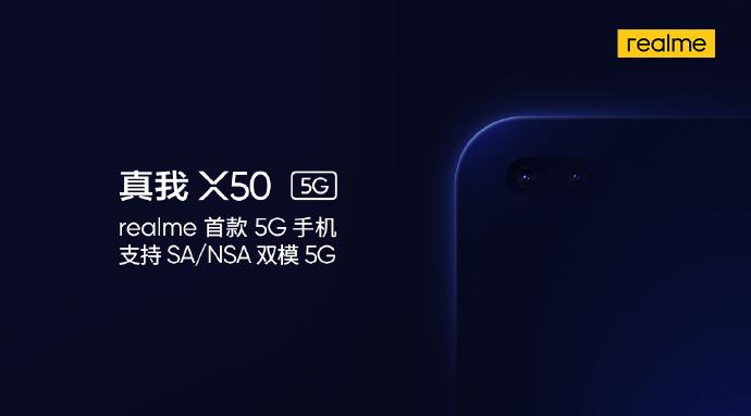 Zapowiedź Realme X50 5G