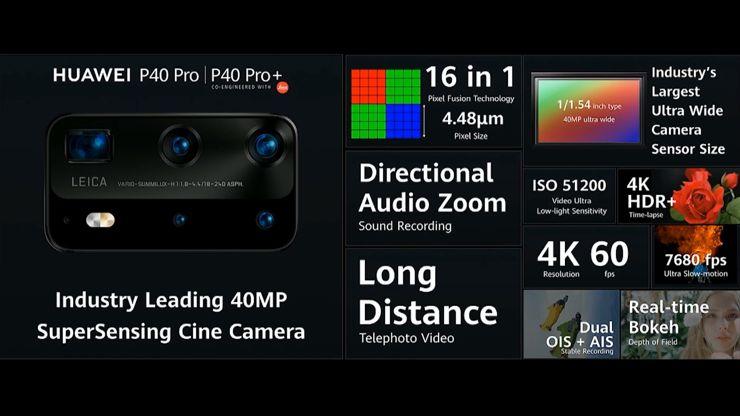 Błyskawiczny przegląd Huawei P40 Pro i Huawei P40 Pro+
