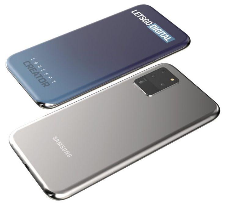 Tak może wyglądać Galaxy S30... Czy może S21?