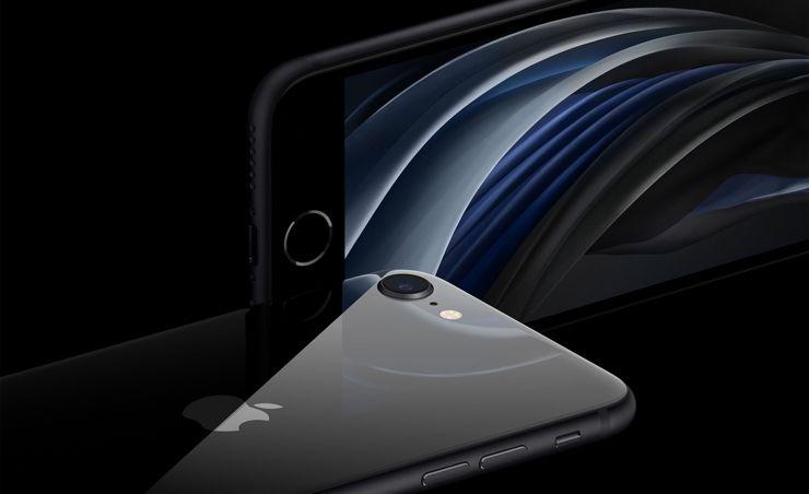 iPhone SE 2020 najlepiej prezentuje się chyba w czerni