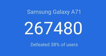 Wyniki benchmarków Oppo Reno 3 i Galaxy A71