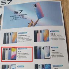 Dostępne rendery i specyfikacja Vivo S7
