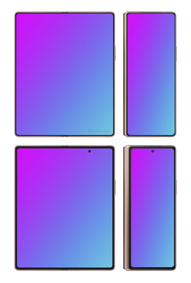 Samsung Galaxy Fold 3 w porównaniu z Galaxy Z Fold 2 5G