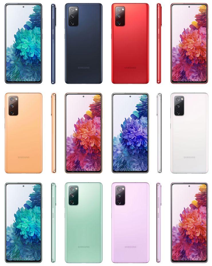 Wersje kolorystyczne Galaxy S20 Fan Edition
