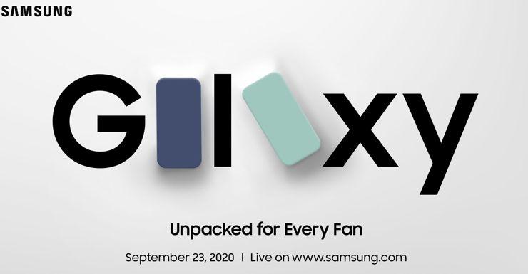 Zaproszenie na premierę Galaxy S20 FE