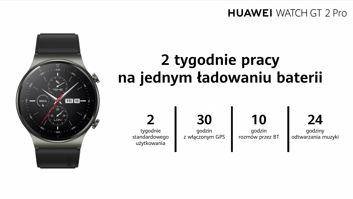 Huawei Watch GT 2 Pro: bateria na 2 tygodnie