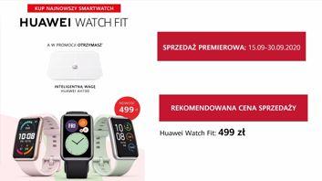 Huawei Watch Fit - specyfikacja techniczna i polskie ceny