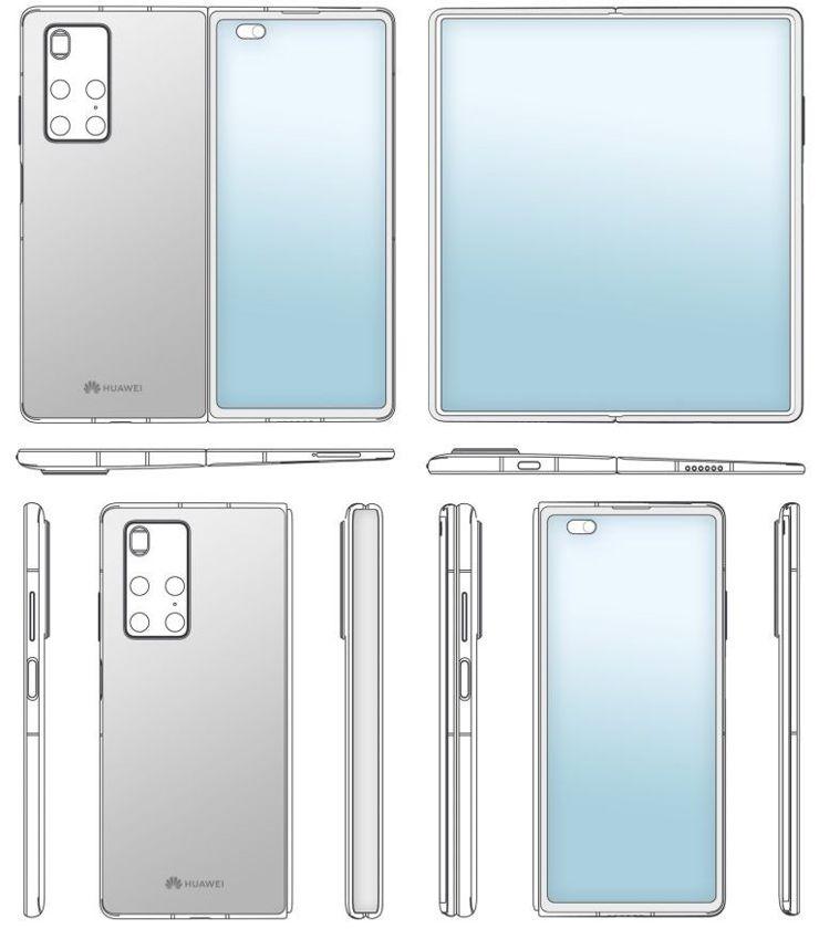 Huawei Mate X2 w rzutach